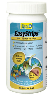 Tetra EasyStrips 6-in-1 Test 100pk - Allans Aquarium And Pet Center
