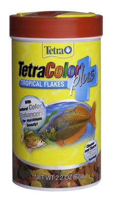 Tetra tropical color flakes plus