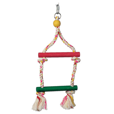 Junglewood Rope Ladder 2 step - Allans Pet Center