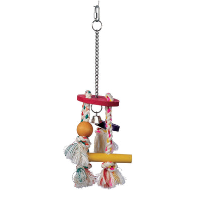 Junglewood Rope Chime Small - Allans Pet Center