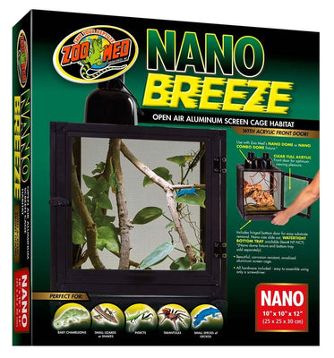 Zoo Med Nano Breeze screen cage