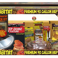 Zoo Med 40 Gallon Bearded Dragon Kit