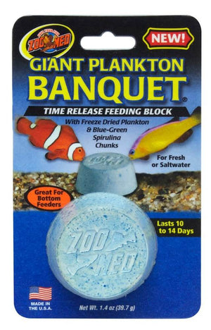 Zoo Med Giant Plankton Vacation Feeder Block (10-14 day)