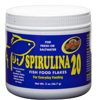 Zoo Med Spirulina Flake Fish Food