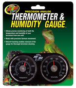 Zoo Med Precision Thermometer & Humidity Gauge