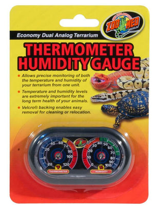 Zoo med Economy Thermometer & Humidity Gauge