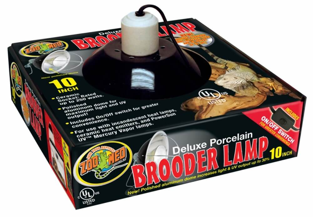 "Zoo Med 10"" Brooder Lamp (max 250w)"
