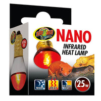 Zoo Med Nano Infrared bulbs