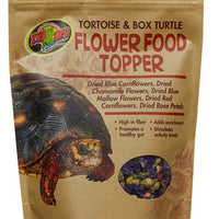 Zoo Med Box Turtle And Tortoise Food Flower Topper