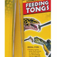 "Zoo Med 10"" Feeding Tongs"