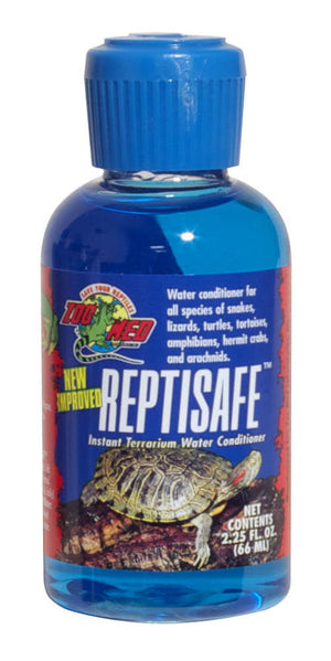 zoo med reptisafe reptile water conditioner
