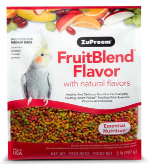 Zupreem FruitBlend food for medium birds