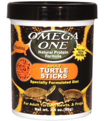 Omega One Adult Turtle Sticks - Allans Pet Center