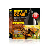 "Exo-Terra Reptile Dome 8"" (max 160w) - Allans Pet Center"