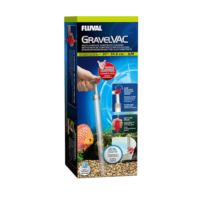Fluval GravelVac Small/Medium - Allans Pet Center