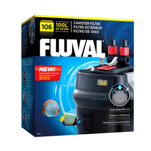 Fluval Canister Filters 106,206,306,406 - Allans Pet Center