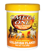 Omega One Goldfish Flakes - Allans Pet Center