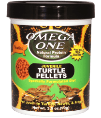 Omega One Juvenile Turtle Pellets (baby) - Allans Pet Center