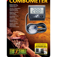 Exo-Terra Digital Combometer temp/humidity with probe - Allans Pet Center