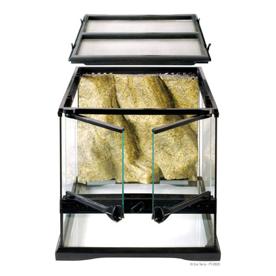 Exo Terra Glass Terrarium 12x12x12 - Allans Pet Center