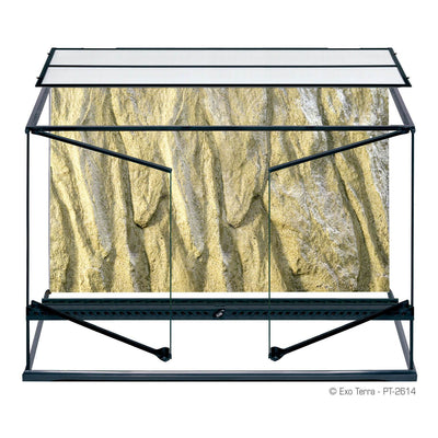 Exo Terra Glass Terrarium 36x18x24 - Allans Pet Center
