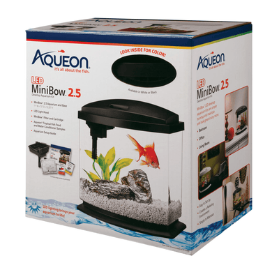 Aqueon LED Mini Bow 2.5 gallon - Allans Pet Center