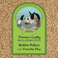 Rabbit Pellets w/ Timothy hay (volkman) - Allans Pet Center