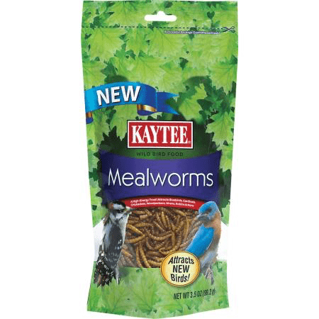 Dried Mealworms (Kaytee) - Allans Pet Center