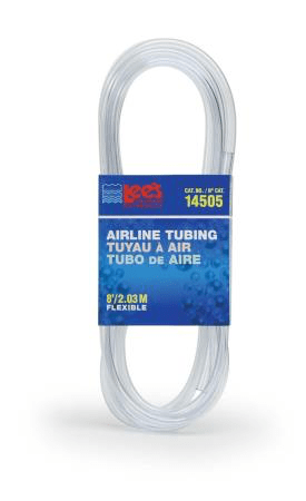 Aquarium Air Line Tubing 8' - Allans Pet Center