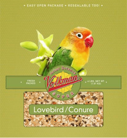Lovebird/Conure Food (volkman) - Allans Pet Center