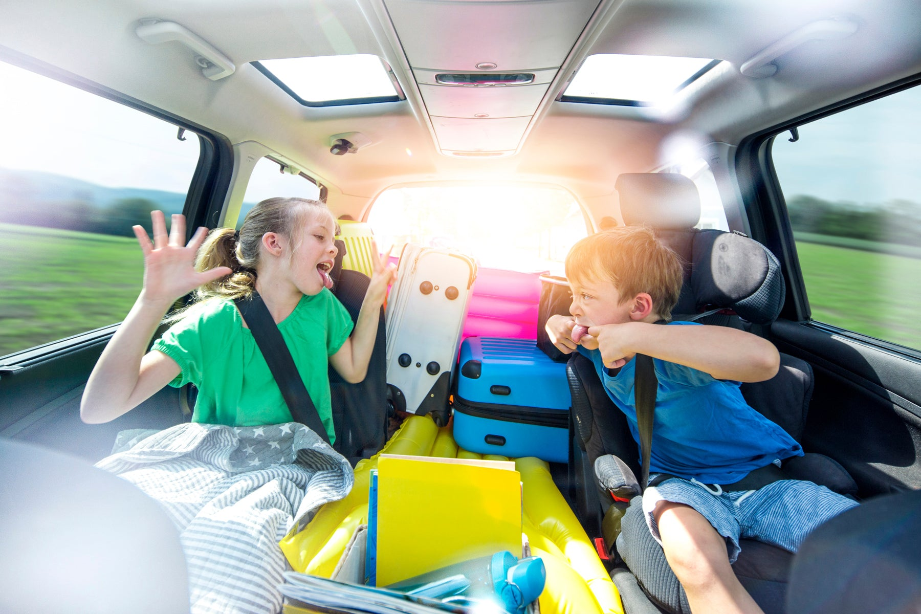 5 fun and engaging games to play to keep the kids entertained on a Road trip!