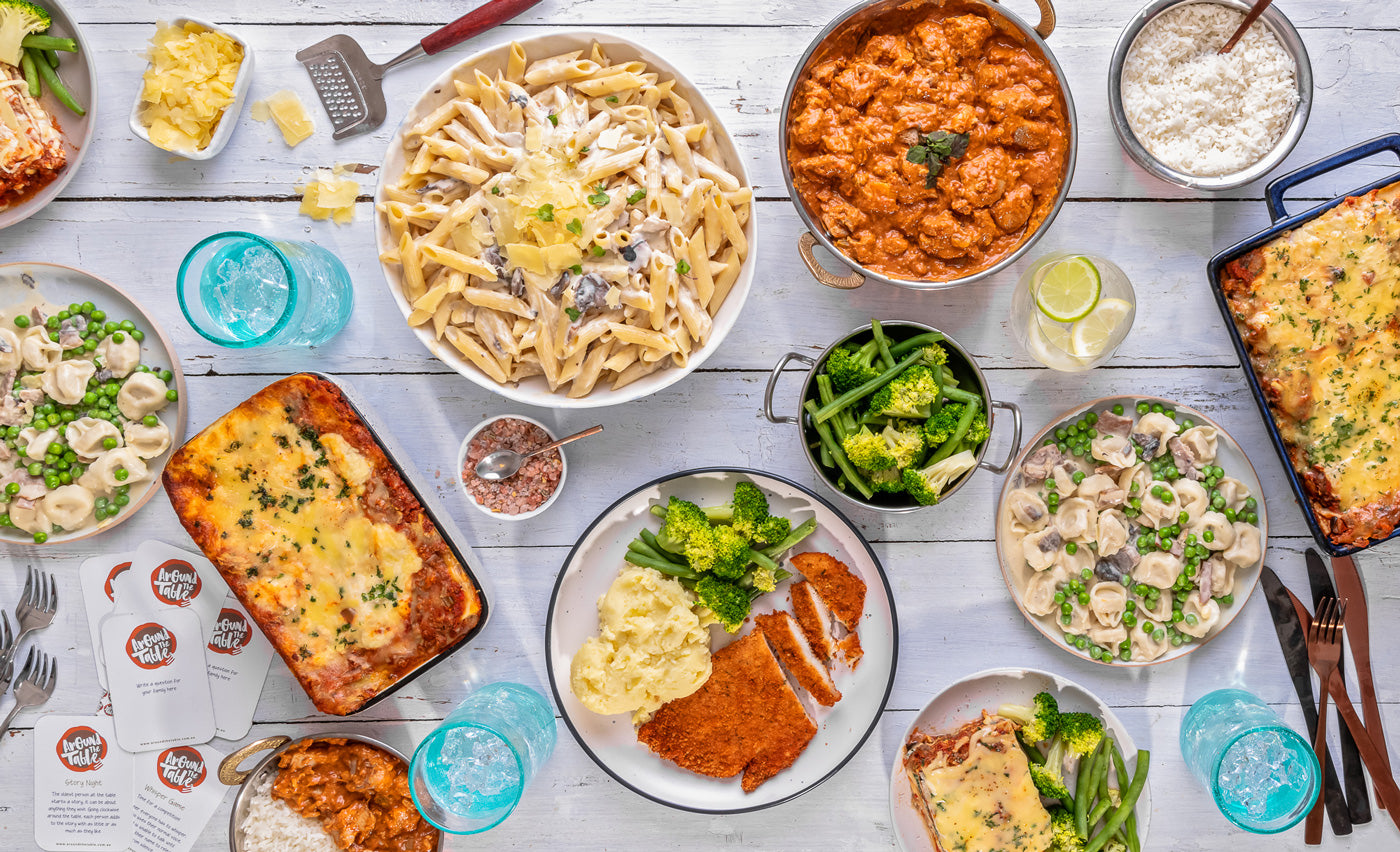 Family Favourite Meals delivered from Around The Table