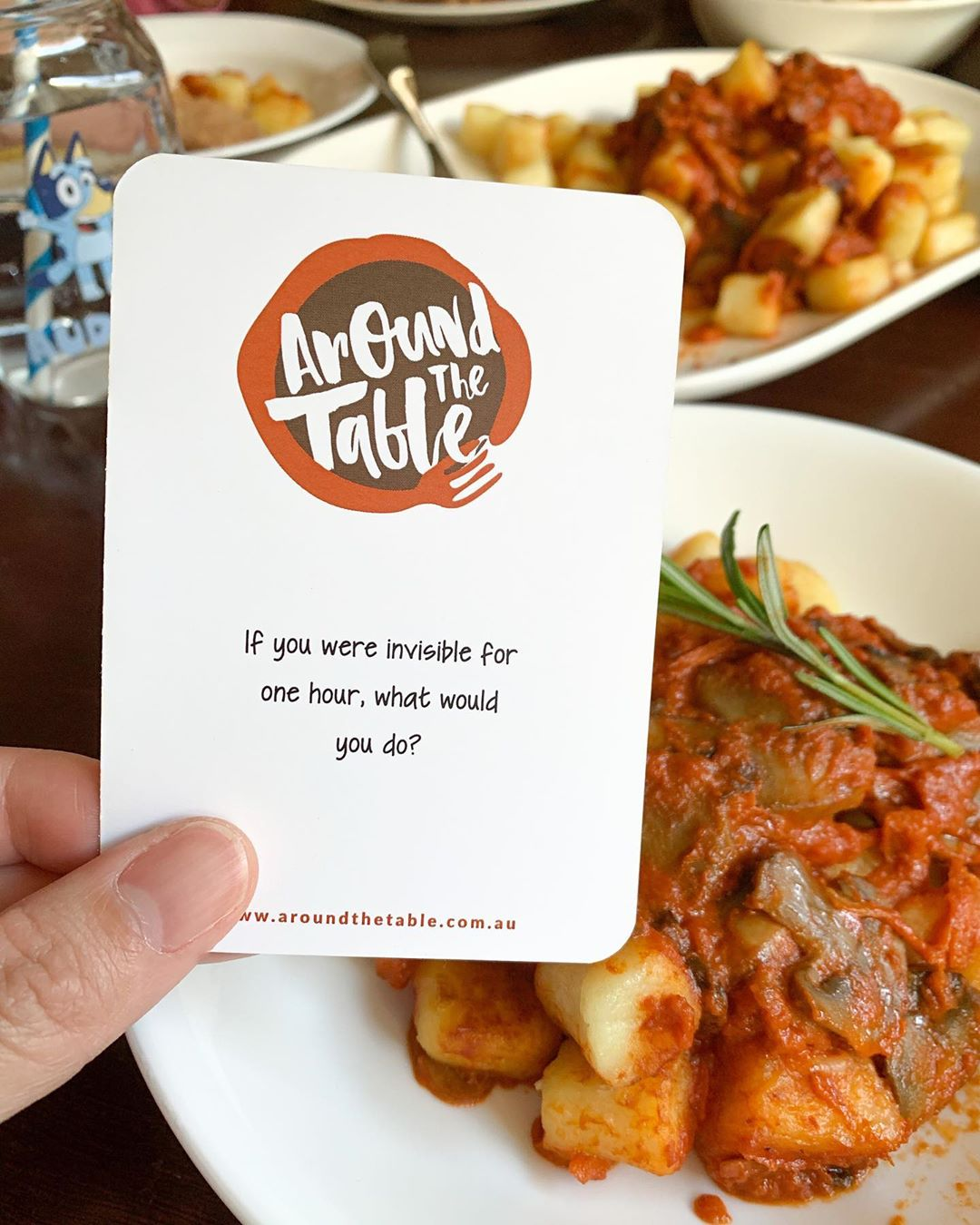 Limited Edition - DINNER CONVERSATION CARDS