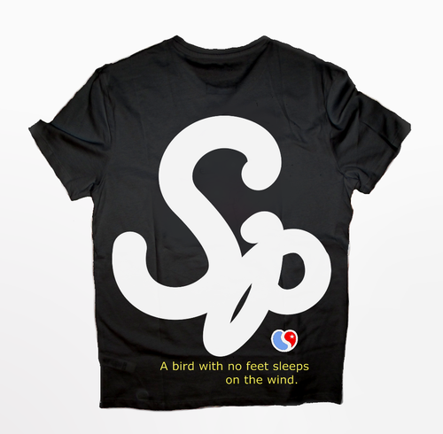 Sp T-Shirt White and Black