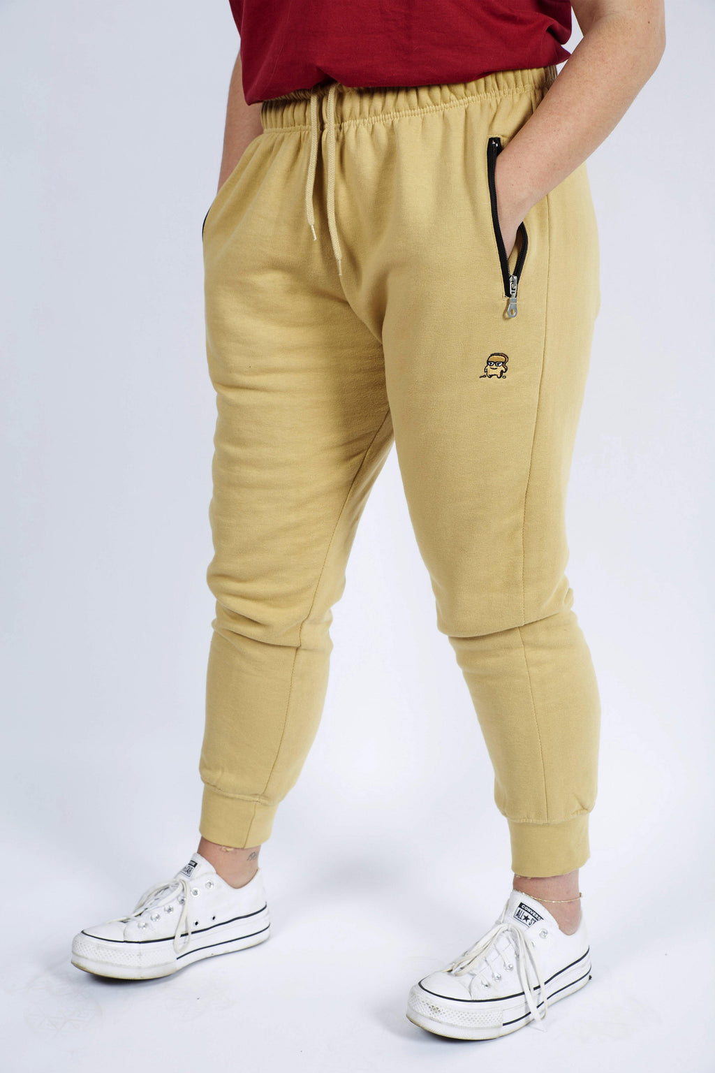 TAN CHOAST SWEATPANTS