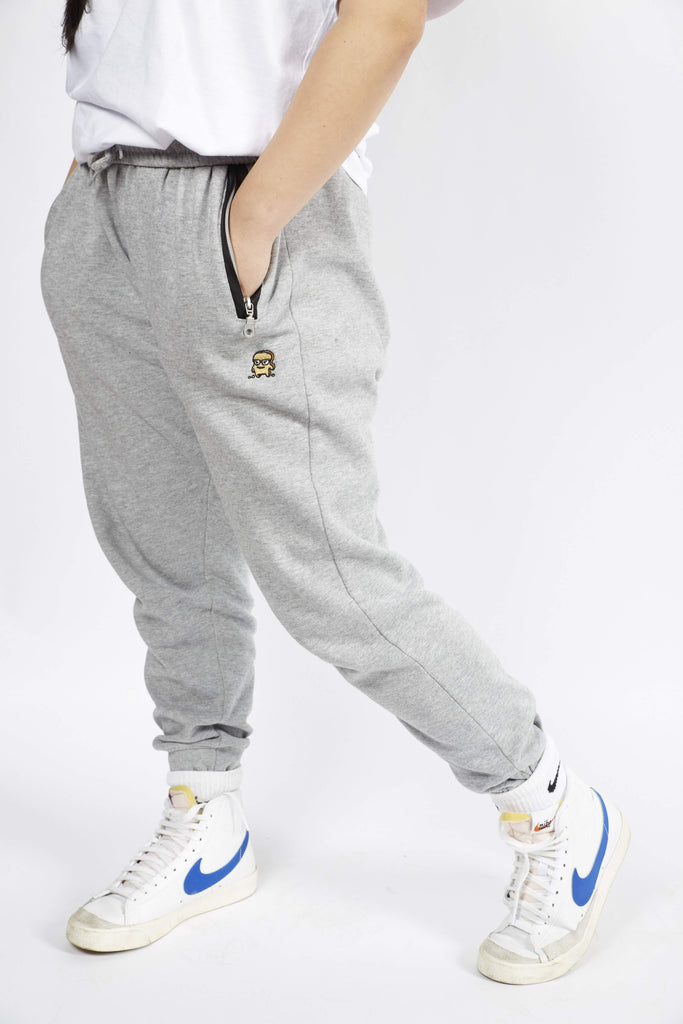 LIGHT GREY CHOAST SWEATPANTS - Choast