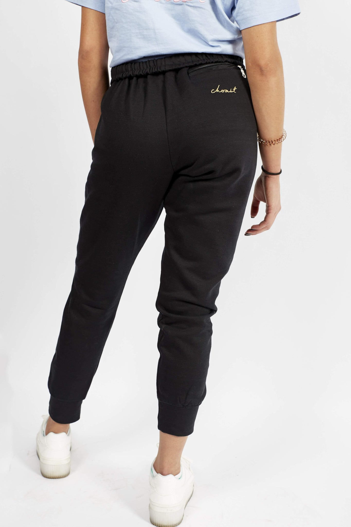 BLACK CHOAST SWEATPANTS