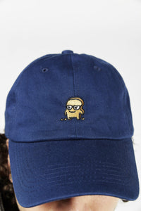 DARK BLUE DAD HAT