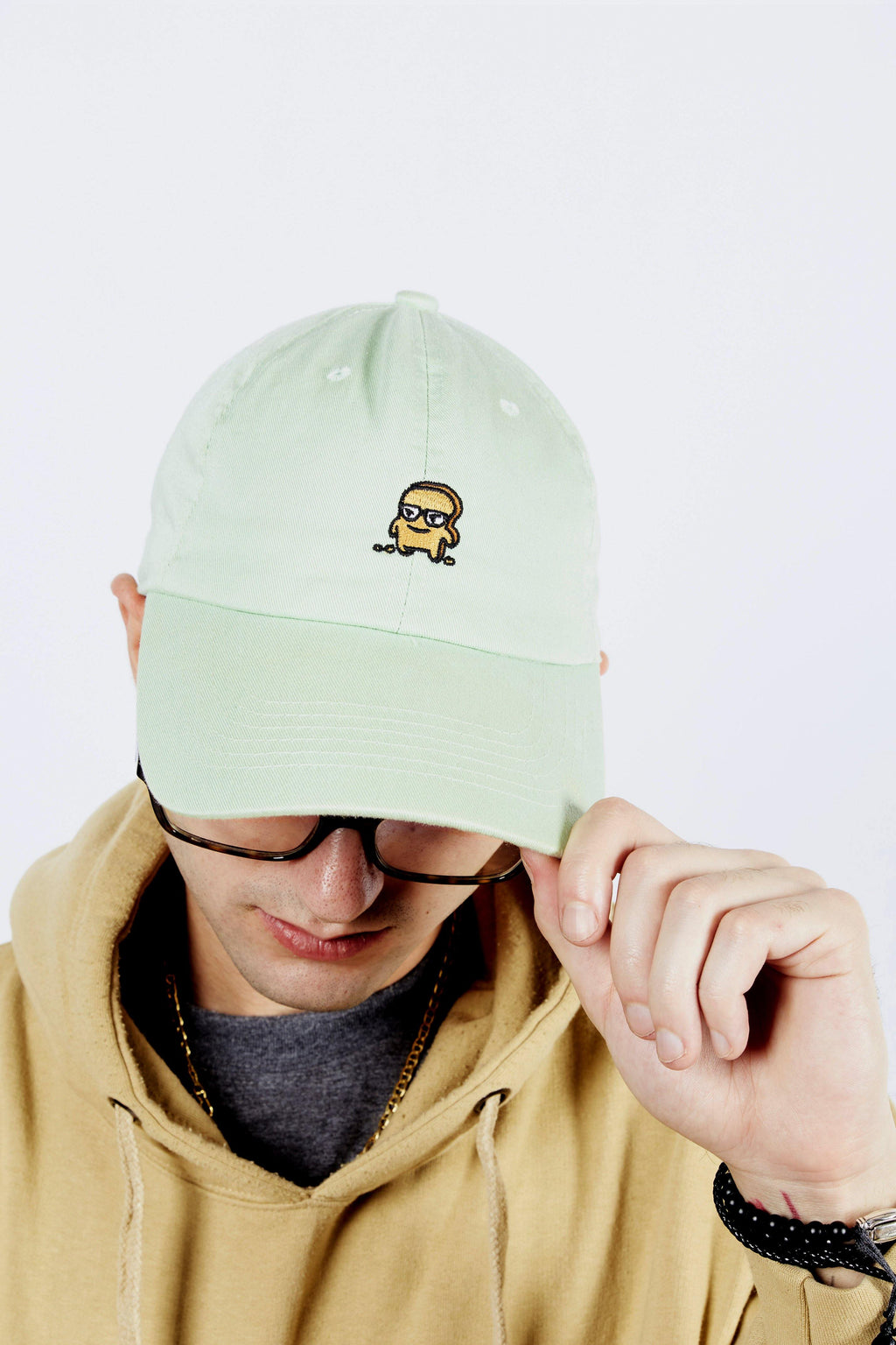 MINT GREEN DAD HAT