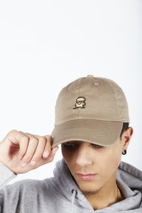 BROWN DAD HAT