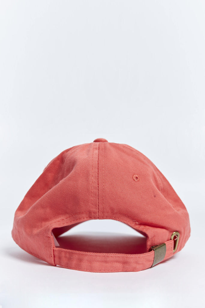 CORAL RED DAD HAT - Choast