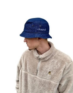 DENIM BLUE BUCKET HAT