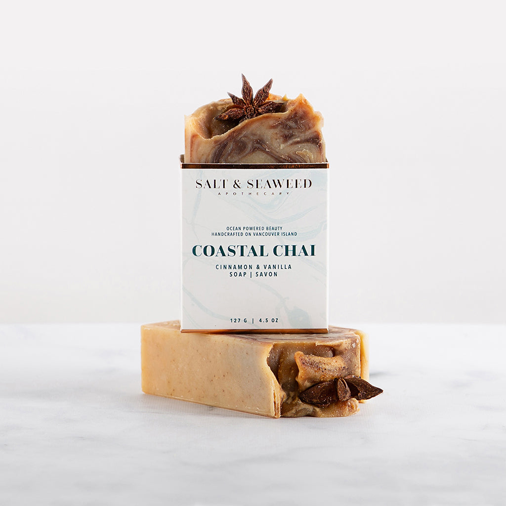 COASTAL CHAI SOAP - Salt and Seaweed Apothecary