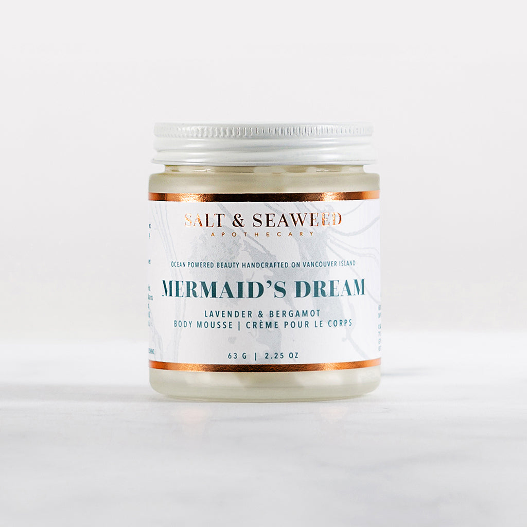 MERMAID'S DREAM FACE & BODY MOUSSE - Salt and Seaweed Apothecary