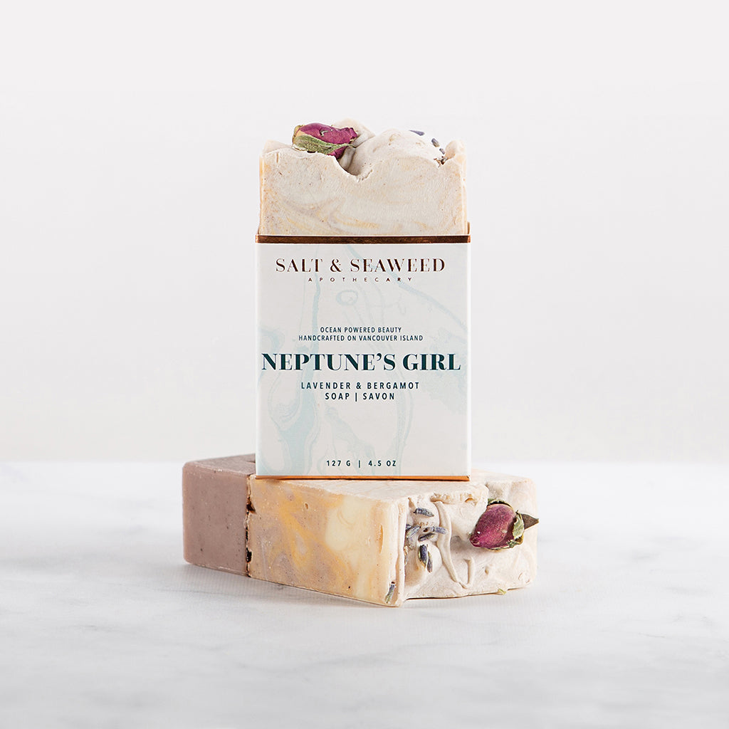 NEPTUNE'S GIRL SOAP - Salt and Seaweed Apothecary