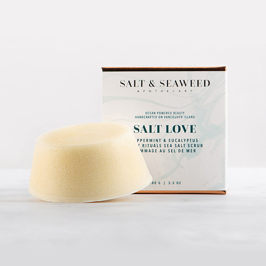 SALT LOVE SEA SALT SCRUB BAR - Salt and Seaweed Apothecary