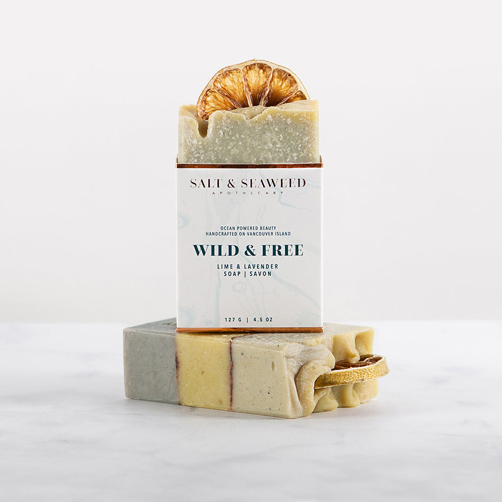 WILD & FREE SOAP - Salt and Seaweed Apothecary