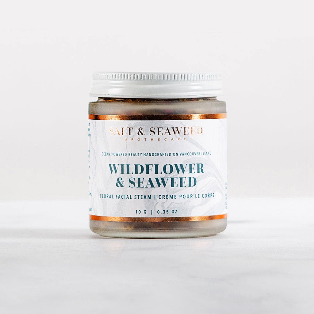 WILDFLOWER & SEAWEED FLORAL STEAM - Salt and Seaweed Apothecary