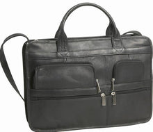 Load image into Gallery viewer, 171 - Multi Pocket Organizer Briefcase, Single Gusset
