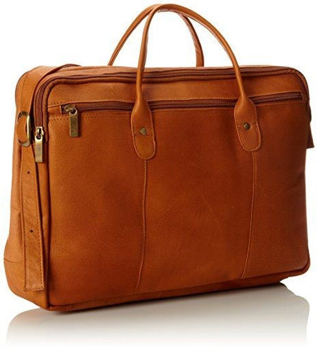 Double Top Zip Briefcase